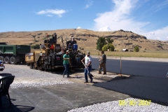 Last of the runway asphalt.